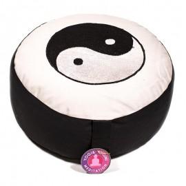 Coussin de méditation yin yang