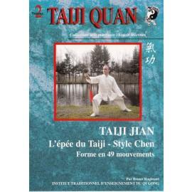 DVD l'épée du taiji style Chen Forme 49