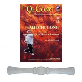 "Set DVD ""Qi Gong avec bâtonnet"" + Bâtonnet"