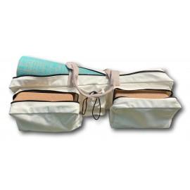 Kit yoga confort ivoire