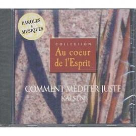 CD Comment méditer juste- Kaisen