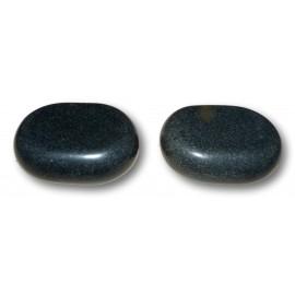 Lot de 2 pierres dos et cuisses 7,5 x 5,5 x 2,5 cm