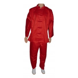 Tenue traditionnelle rouge