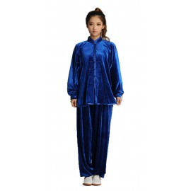 Tenue deluxe en velours de coton Bleu roi