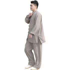 Tenue grise en voile de coton